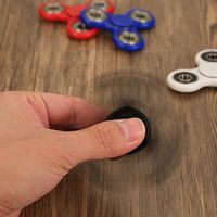Hot Selling Multicolors Relieve Stress Ceramic Edc Hand Spinner 608 Bearing Fidget Spinner