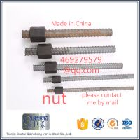 32MM Prestressing Screw Thread Bar