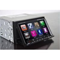 "7"" 2 Din touch screen Car DVD with GPS navigation Blutooth rds TV PIP stereo video"
