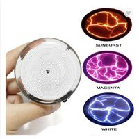 Fancy Mini Sensor Lighting Pocket Plasma Plate in Glass Crafts With Sound Control Plasma Plate Other