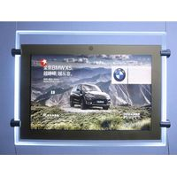 Acrylic Window Display LCD Player Remote Control Light Boxes