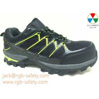New KPU Upper S1P Lightweight Safety Trainer Shoes for Men SF-084