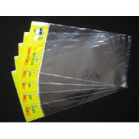 BOPP Header Bags / Resealable OPP Bag