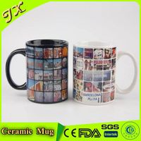 Eco-friendly ceramic custom mug