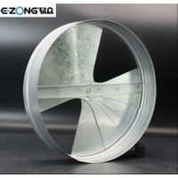 Steel fan blade damper