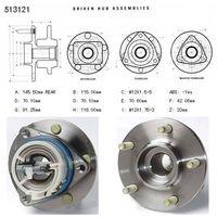 bearing assembly 513121/7470105 thumbnail image
