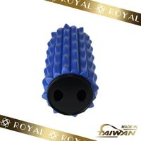 Wavy Blue Massage Foam Roller
