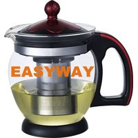 2014 New style 1200ml teapot with unbreakble PP handle