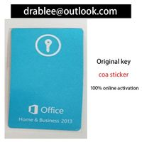 win office2013 Pro&Key coa sticker