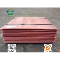 99.99% Purity Copper Cathode