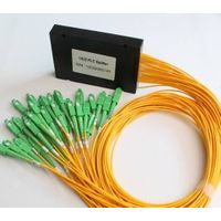 Fiber Optic PLC optical splitter 1 *32 ABS box with FC/SC/PC/LC/ST connector