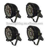 Outdoor Waterproof 9*12W RGBWA+UV 6in1 LED PAR Light LED Light for Stage thumbnail image