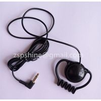 Professional Ear Hook Earphone Meeting Monitor headphone with 3.5mm Stereo Jack for Office worker Me