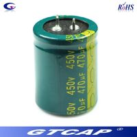 Snap In Al Electrolytic Capacitor 450V 470uF Electrolytic Capacitor