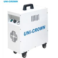 Q-AIR 100 7.5 bar AC 110V 220V Oil free portable silent dental air compressor