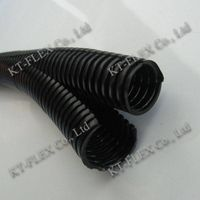 Double deck split loom flexible conduit