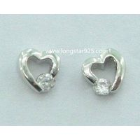 Kids Small Earrings in 925 Sterling Silver Jewelry Wholesale
