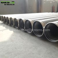 Continuous Slot Stainless Steel Wire Wrapped Screen Pipe