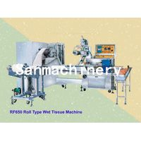 Roll Type Wet Tissue/Wet Wipes Making Machine with CE(RF-650)