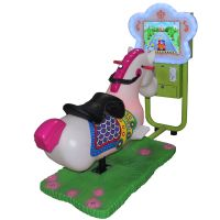 Kids Coin Operated Game Machine 3D Video Swing Machine Ride on Horse Kids Car Racing Games thumbnail image
