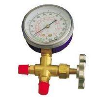 Single Manifold CT-466 (3-way brass valve with pressure gauge, refrigeration parts) thumbnail image