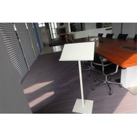 Uispair 100% Steel Modern Simple Podium Without Speakers for Meeting Room