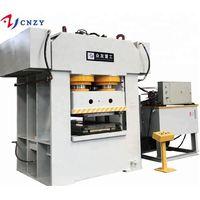 3000 ton Metal Steel Door Skin Making Hydraulic embossing Press Machine thumbnail image