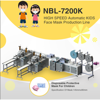 NBL-7200K High Speed Automatic Kids Face Mask Production Line thumbnail image