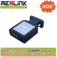 VGA to HDMI Converter (Easy Adapter, Plug and Work) thumbnail image