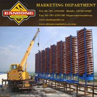 spiral concentrator spiral chute spiral separator for iron ore