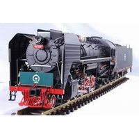 Brass locomotive model - Chinese Qianjin 7207# thumbnail image