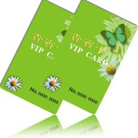 pvc member card