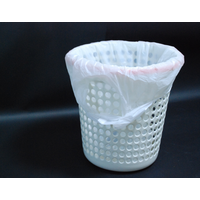 Hdpe Star-sealed garbage bag with handle thumbnail image