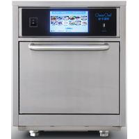 15 times faster, convection microwave oven with micro, convection, impinged and smart menu system