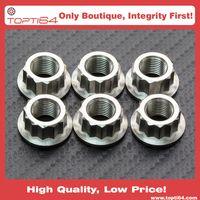 Titanium Sprocket Nut Bi-Hex M8 x 1.25mm (LOCK) thumbnail image