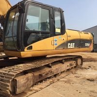 Good Condition CAT320D used hydraulic crawler excavator