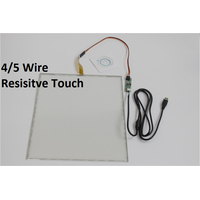 5~22 inch resistive touch screen panel with EETI Controller board usb interface thumbnail image