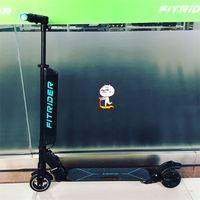 Fitrider F1 Electric Scooter Battery Can Be Quick Released Battery, Double Shock Absorber Spring thumbnail image