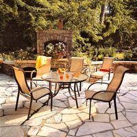 outdoor textilene furniture