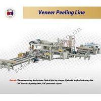 Veneer Peeling Line