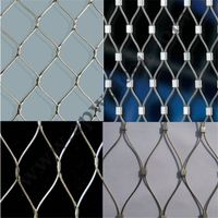Stainless Steel Wire Rope Net for Anti-falling Net/animal