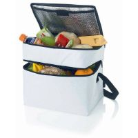 double-deck promotion insulated cooler bags