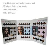 hair color book manufacture thumbnail image