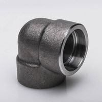 Forged socket welded 90 degree elbow #3000 pipe fittings
