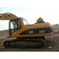 Used Japan Original CAT 325C Crawler Excavator