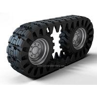 Rubber Skid Steer Over The Tire Tracks Off-Road Vehicle OTT Rubber Tracks Manufacturer thumbnail image