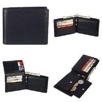 Men's Black Leather Wallets thumbnail image