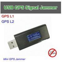 USB-G09 USB GPS Signal Jammer, L1&L2, Distance 5-10meters, Power By 5V USB thumbnail image