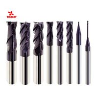 HRC55 2/4flutes Taiwan Solid Carbide Long Shank/Long Flute milling cutter for steel