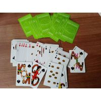 paper playing poker card for promotion